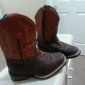 Unisex toddler cowboy boots